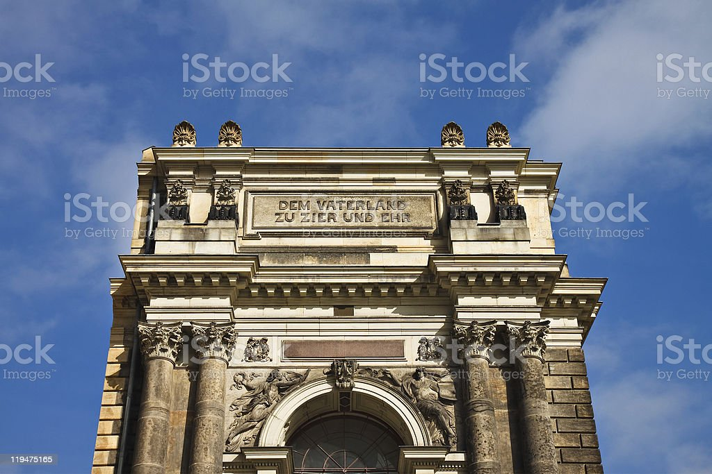 Historical building royalty-free stock photo