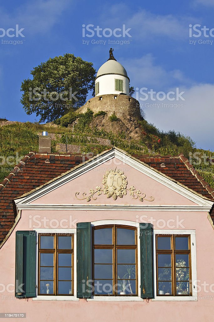 Historical building stock photo