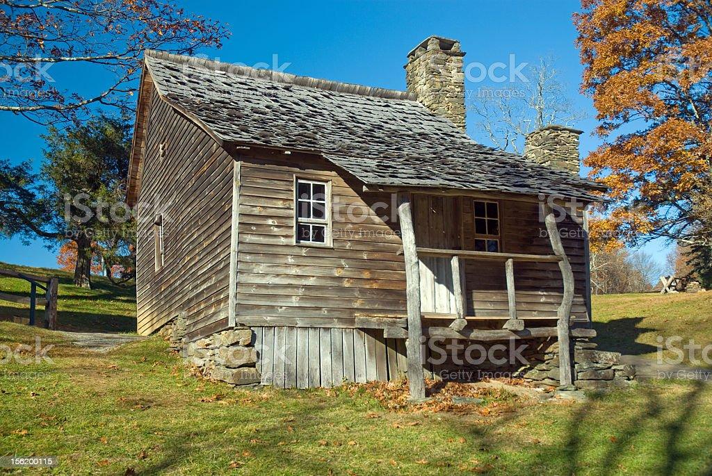 Historical Cabin in North Carolina royalty-free stock photo
