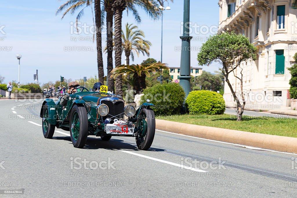 Historical car Recreation stock photo