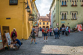 Historical center of Sighisoara, Romania