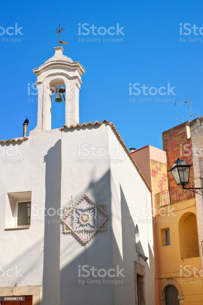Historical church. Rutigliano. Puglia. Italy. stock photo