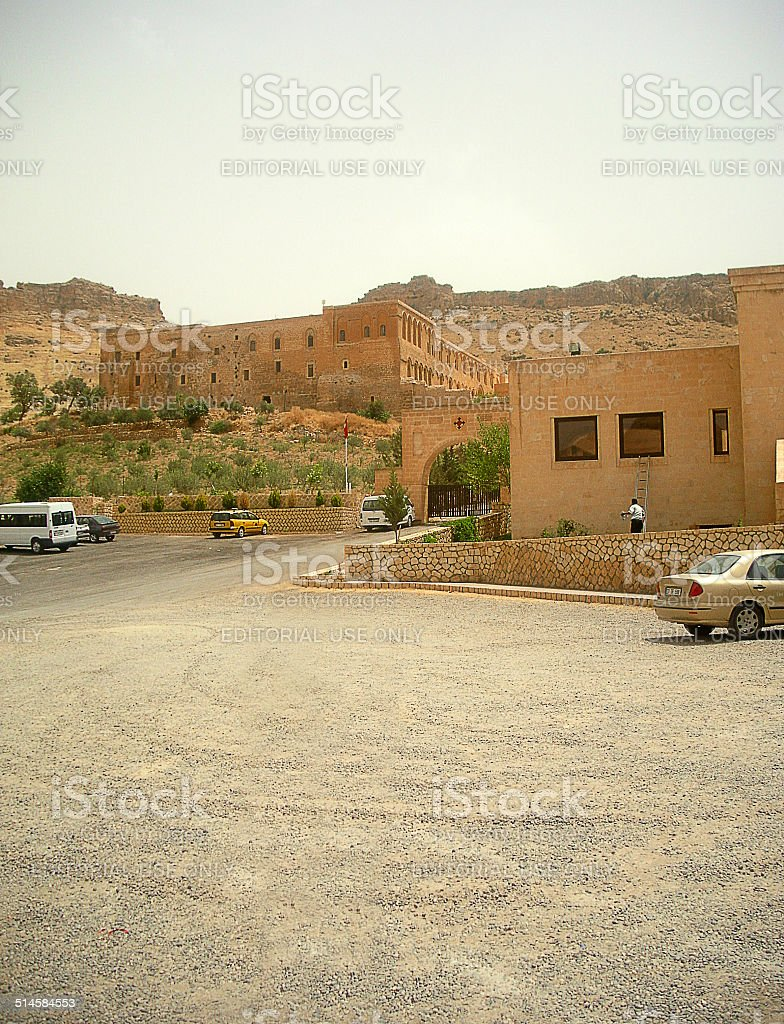Historical city- Mardin stock photo