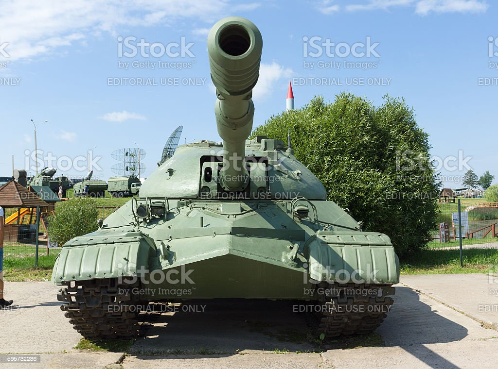 historical complex Stalin Line stock photo