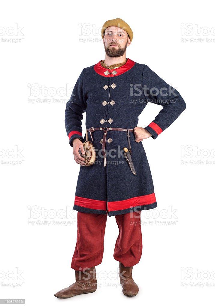 Historical costume stock photo