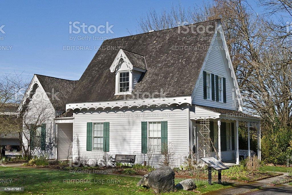 Historical Crosby House stock photo