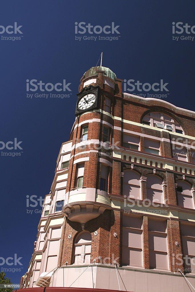 Historical David Jones building at Newcastle, Australia royalty-free stock photo