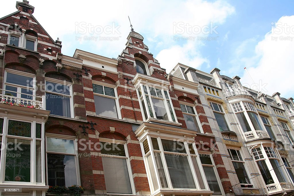 Historical Facades royalty-free stock photo