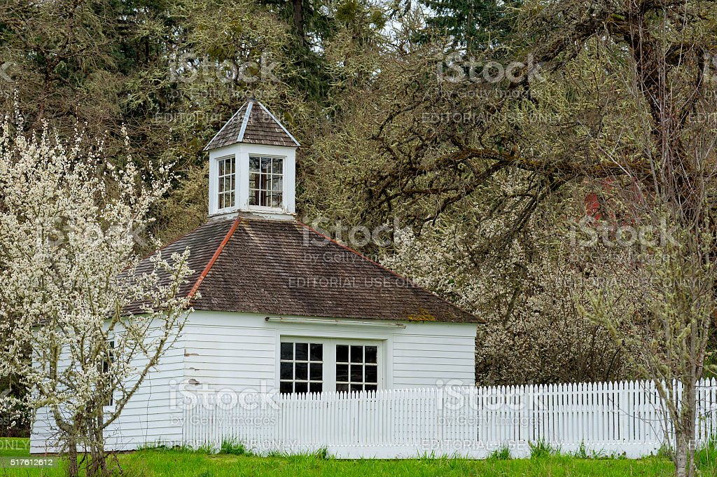 Historical Fiechter Carriage House stock photo