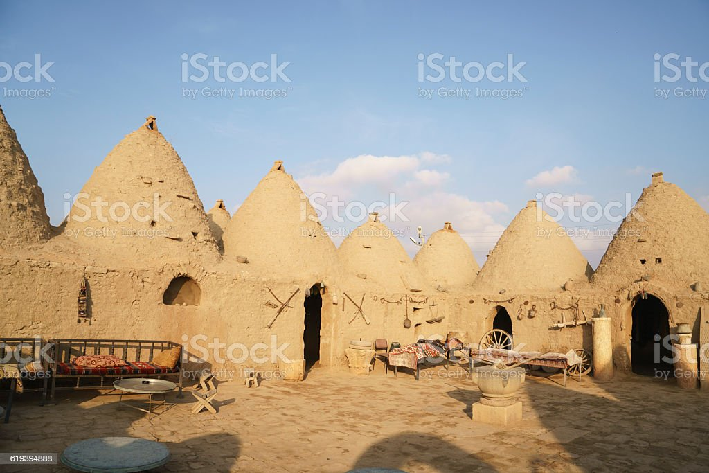 historical harran hose stock photo