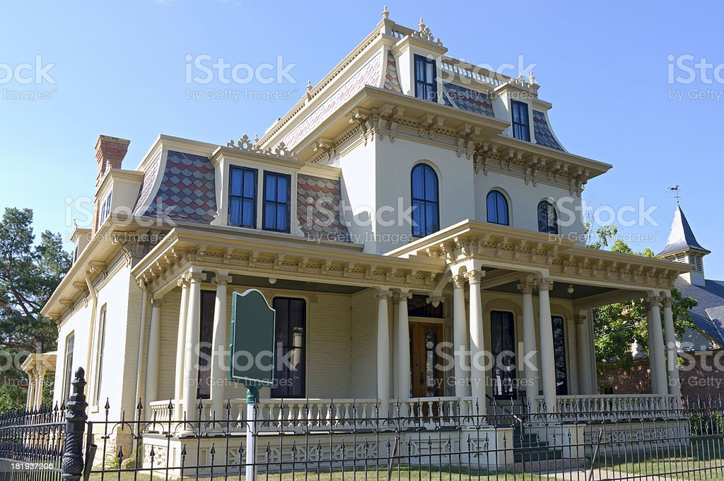 Historical Home in Mankato royalty-free stock photo