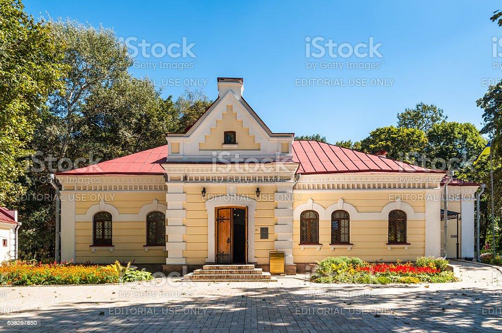 Historical House of Head Judge - General Vasyl Kochubey stock photo