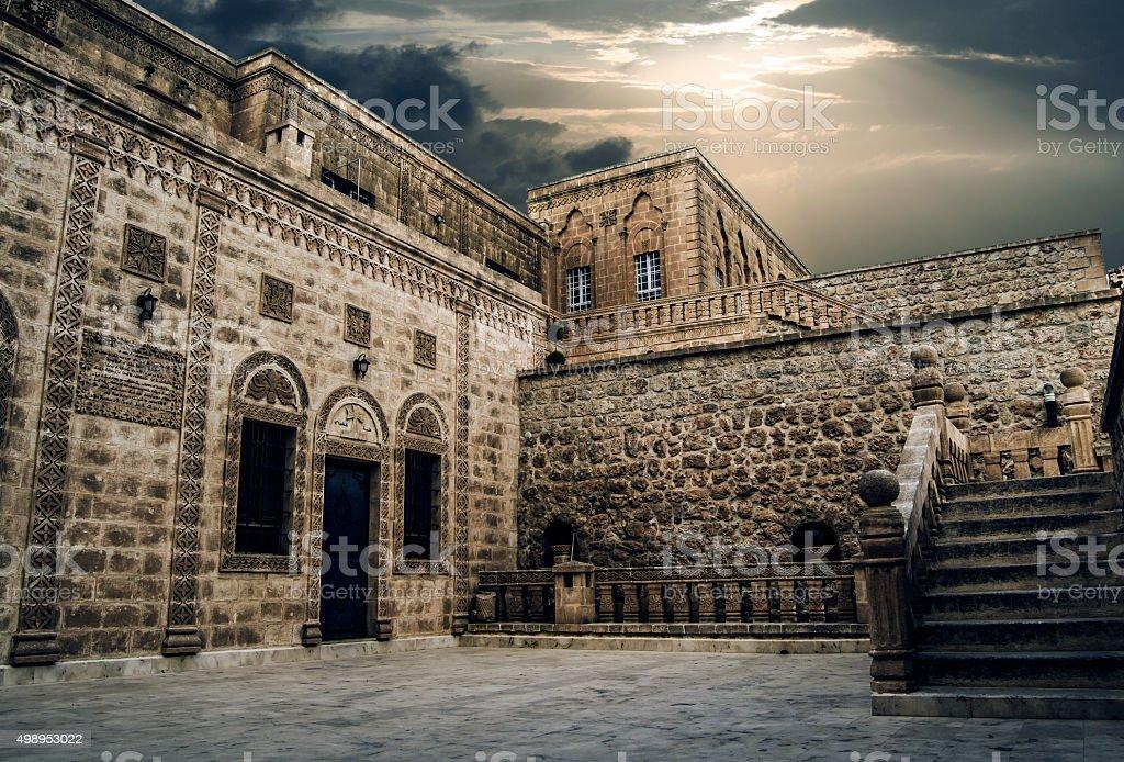 Historical Monastery stock photo