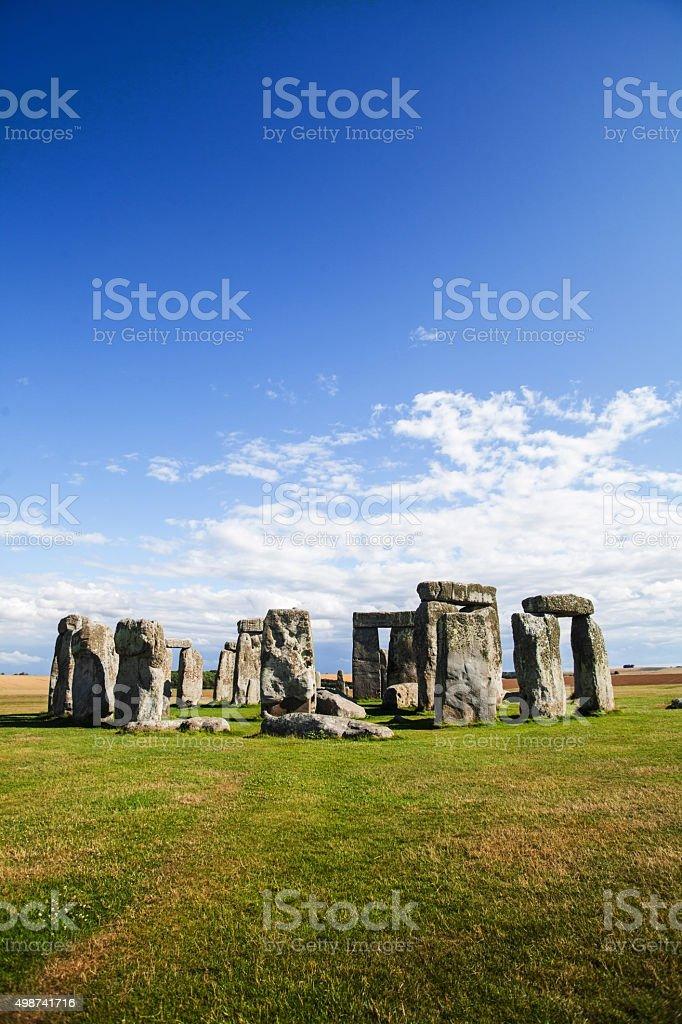 Historical monument Stonehenge stock photo