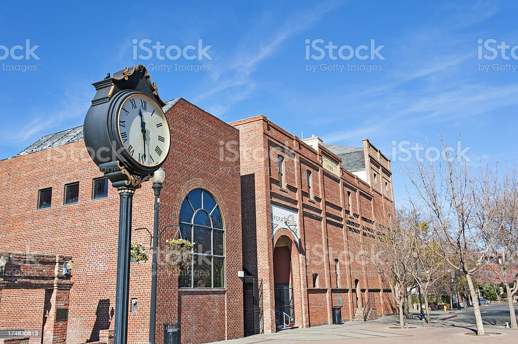 Historical Opera House royalty-free stock photo