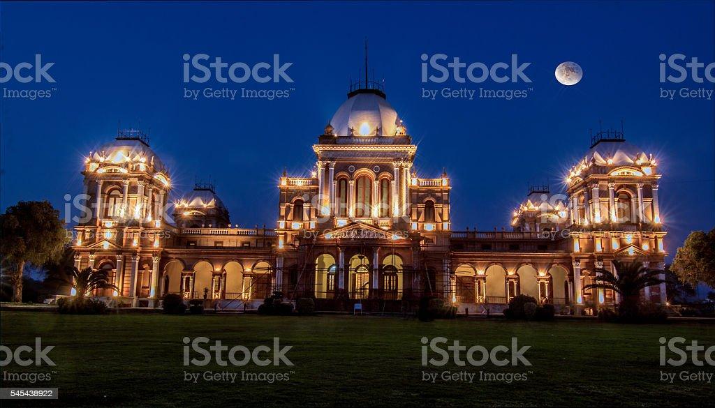 Historical Palace Noor Palace in Bahawalpur stock photo