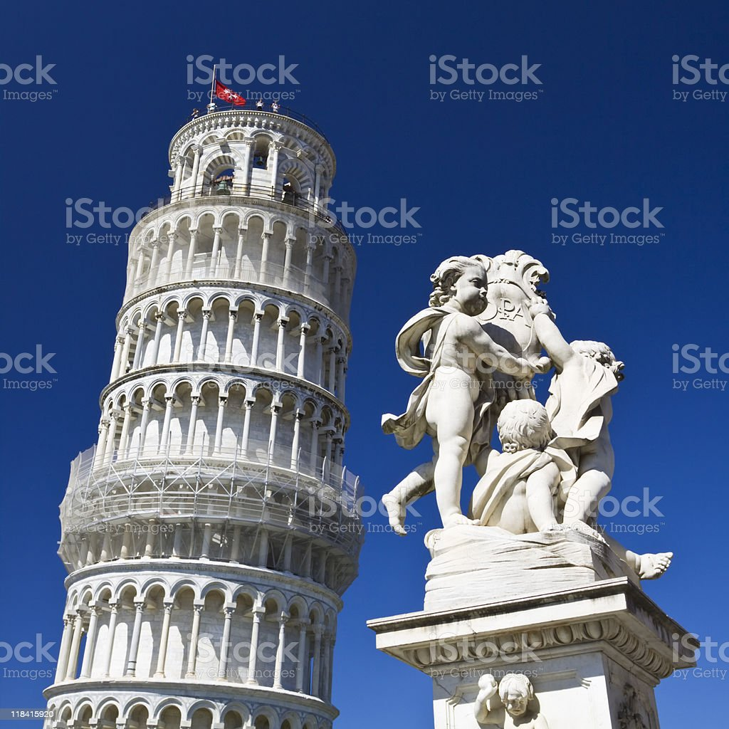 historical pisa royalty-free stock photo