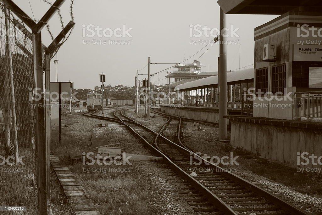 Historical Railway stock photo