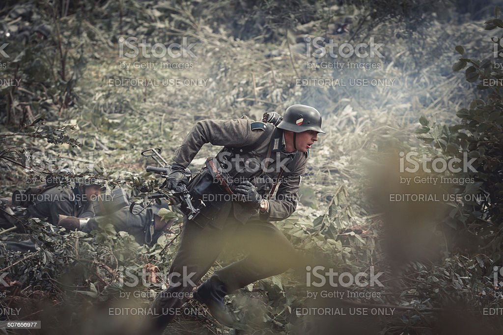 Historical reenactment royalty-free stock photo