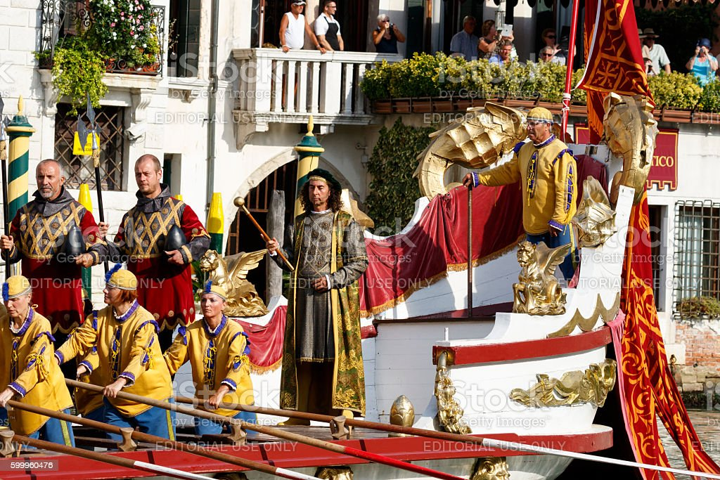 Regata Storica, Venice stock photo