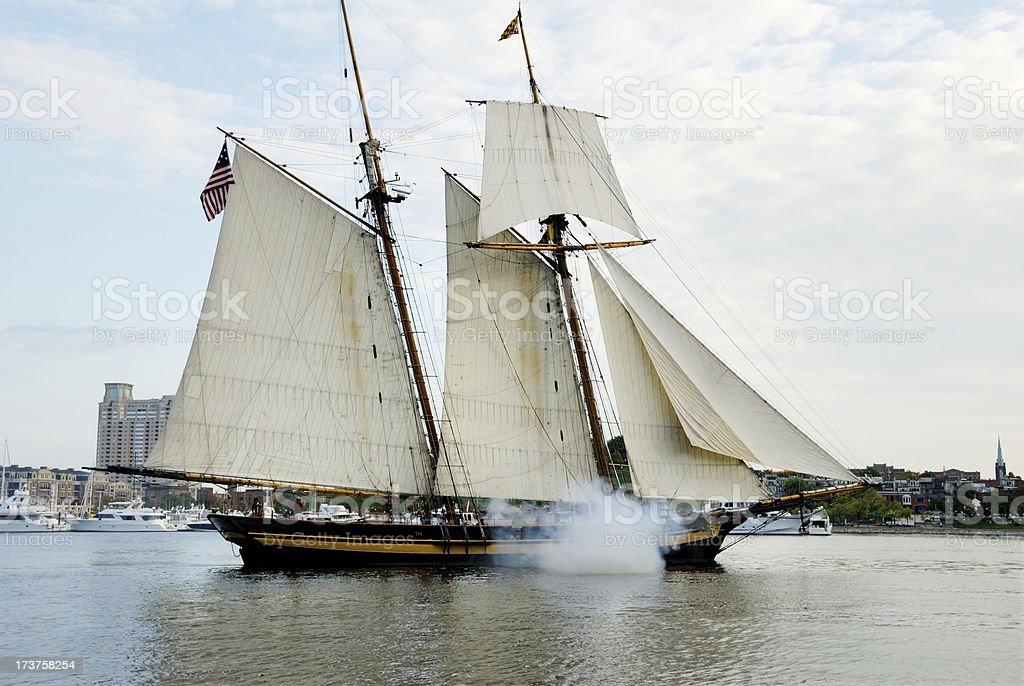 Historical Ship royalty-free stock photo