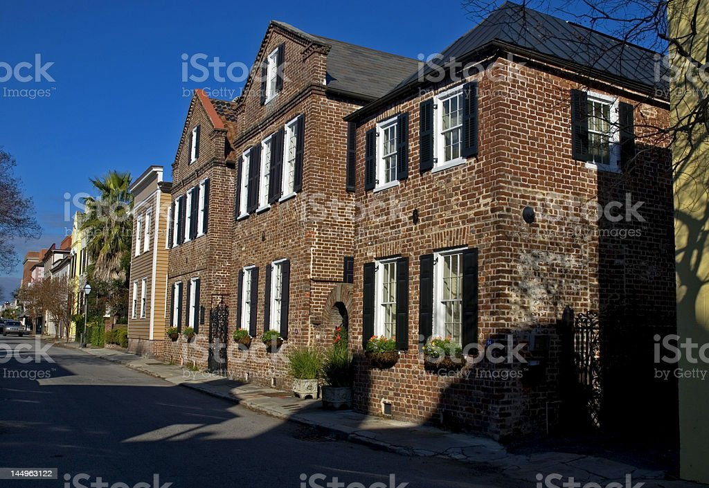 Historical Streets of Charleston royalty-free stock photo