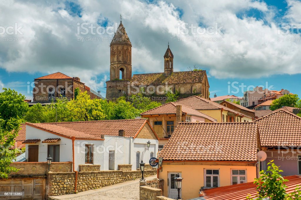 historical town Signagi, Kakheti region, Georgia stock photo