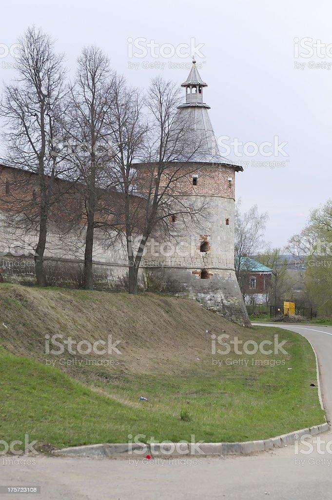 Historical town Zaraysk in Russia. stock photo