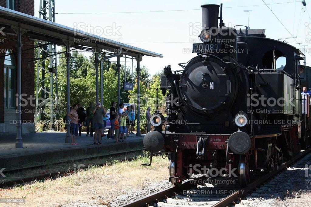 Historical Train stock photo