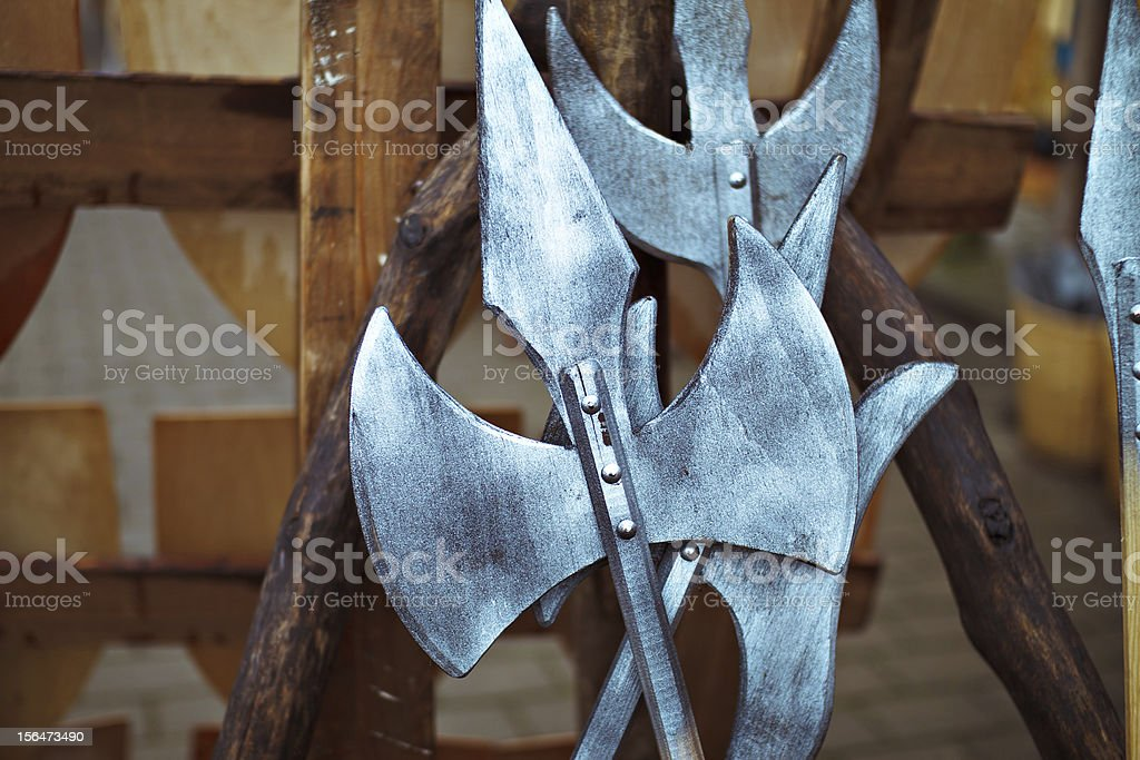 Historical weapons royalty-free stock photo