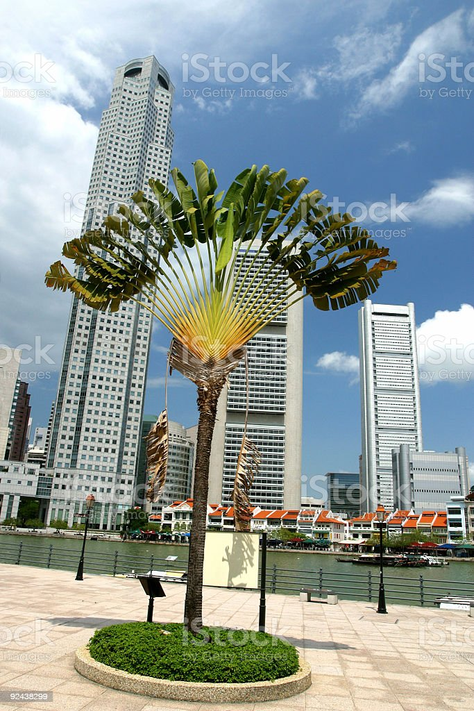 Historical_Singapore stock photo