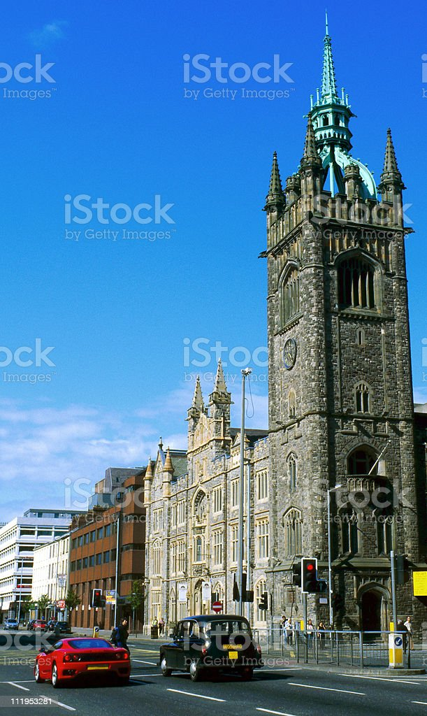 history and modernity royalty-free stock photo