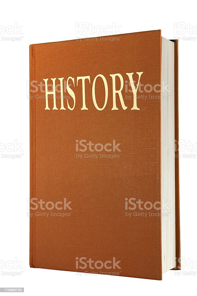History Book. royalty-free stock photo
