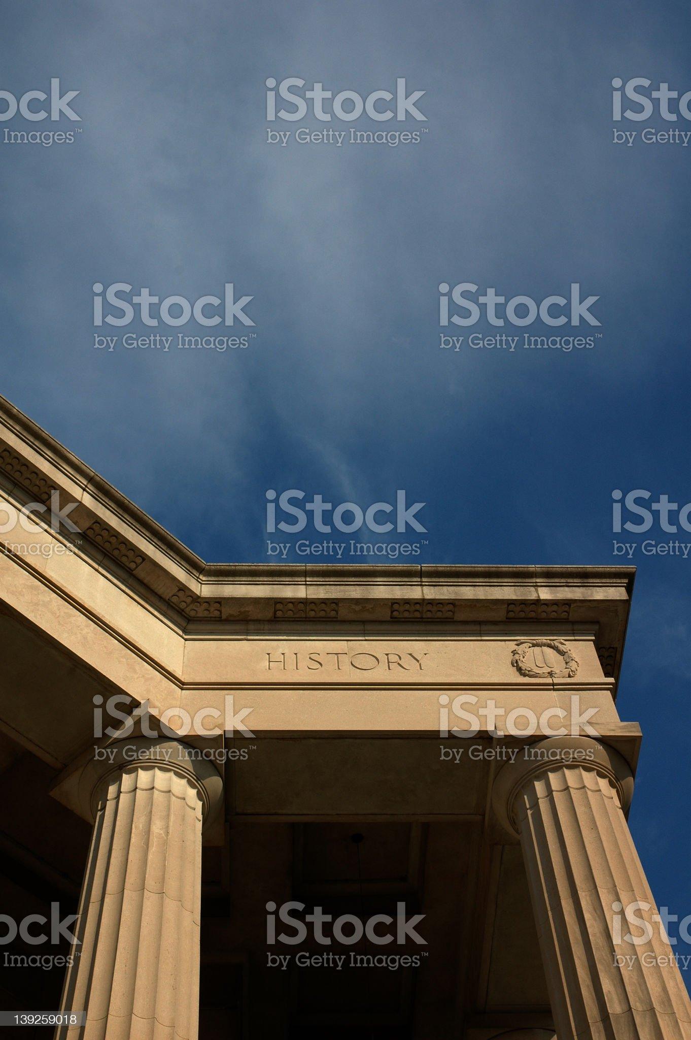 History Foundation royalty-free stock photo