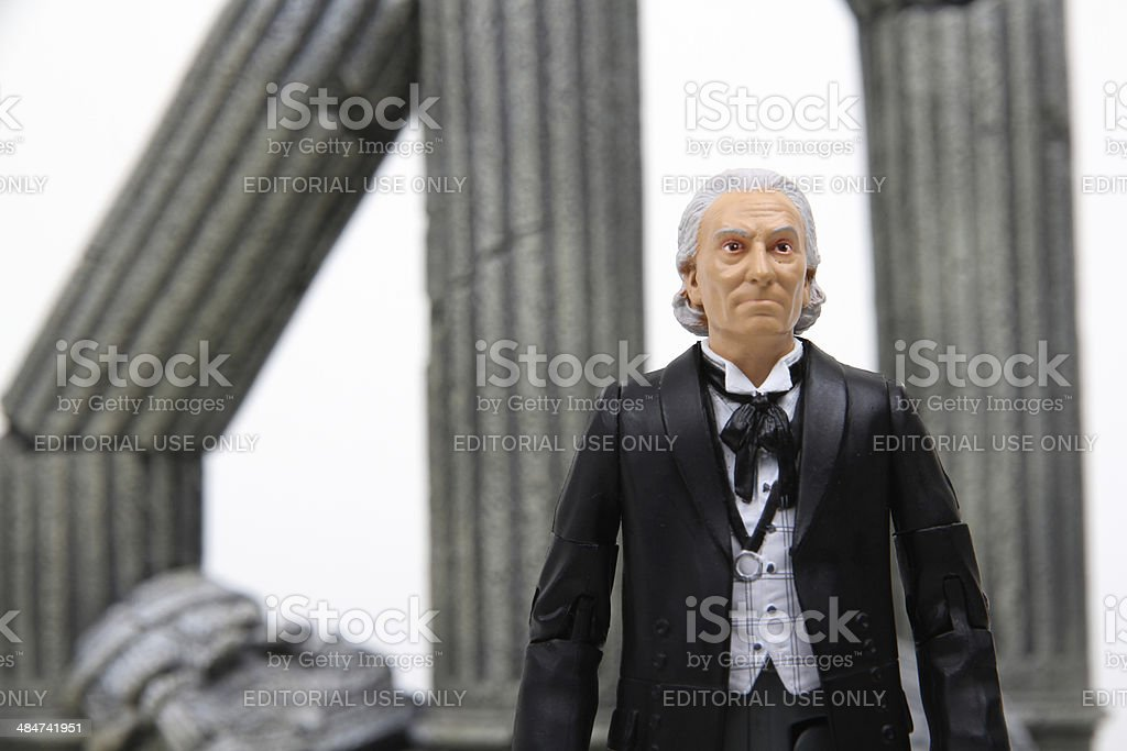 History in One Man stock photo