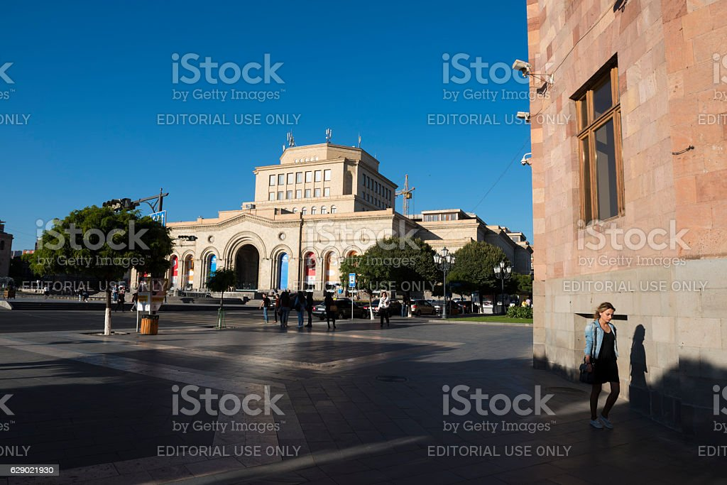 History Museum and National Gallery of Armenia stock photo