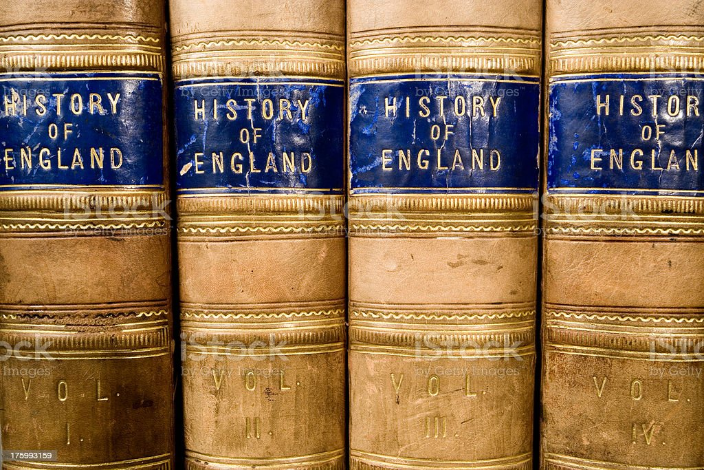 History of England royalty-free stock photo