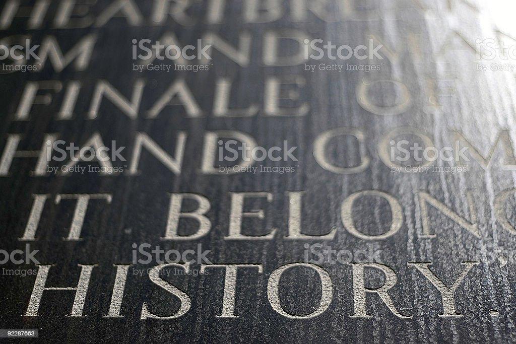 History royalty-free stock photo