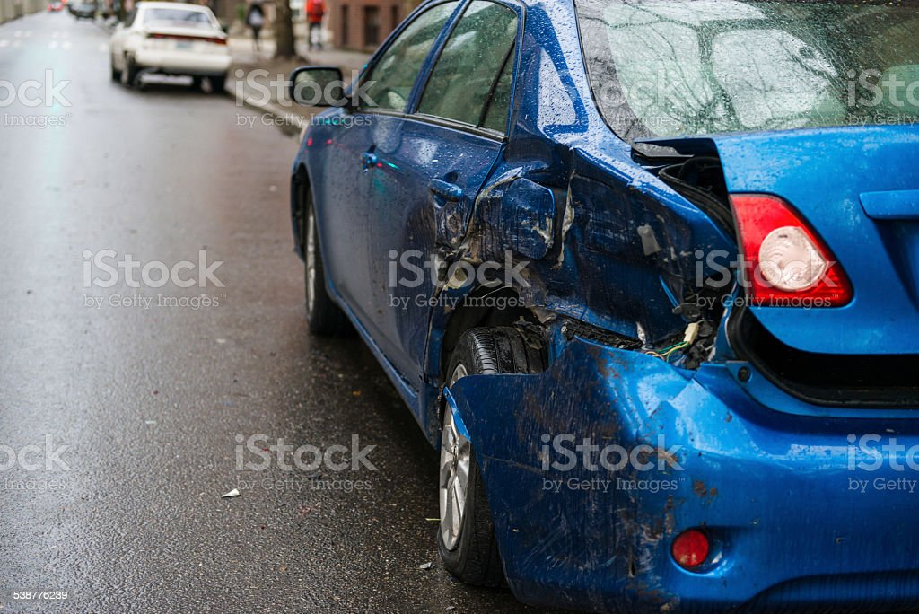 Hit and Run stock photo