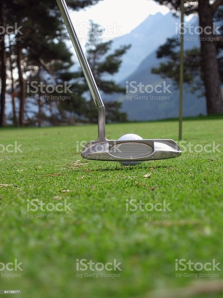 Hit it! royalty-free stock photo
