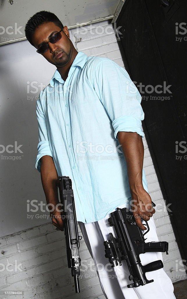Hit Man stock photo