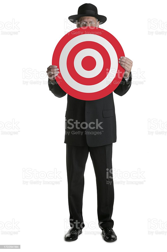 Hit the Target royalty-free stock photo