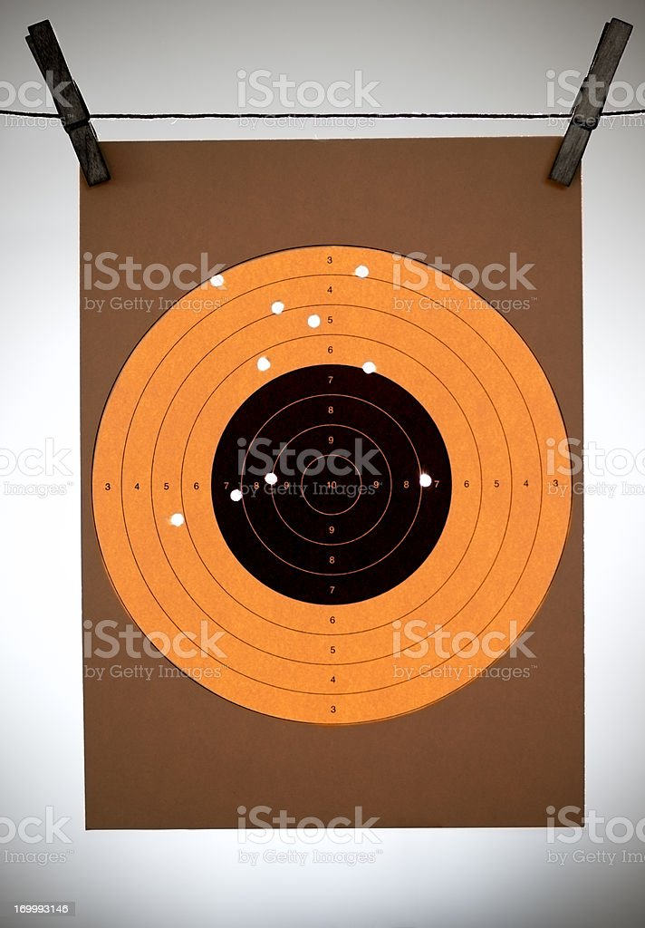 Hit Your Target stock photo