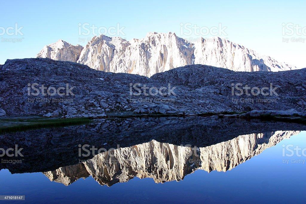 Hitchcock Range Reflects stock photo