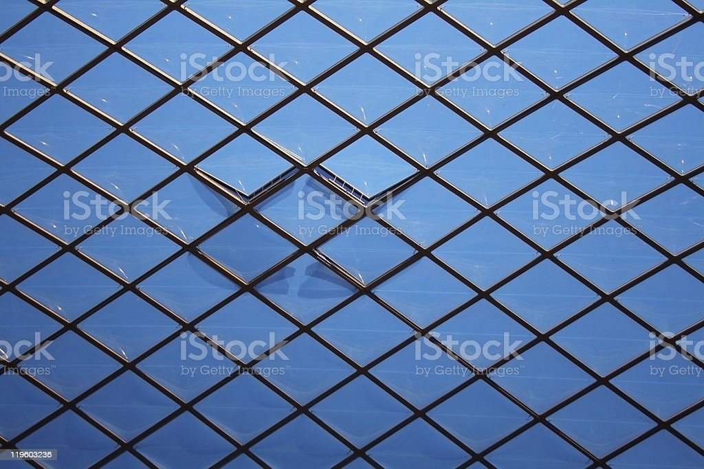 Arquitectura de alta tecnología foto de stock libre de derechos