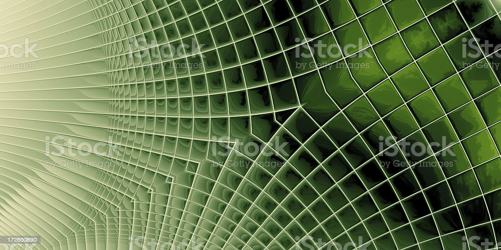 Hitech Green - abstract background royalty-free stock photo
