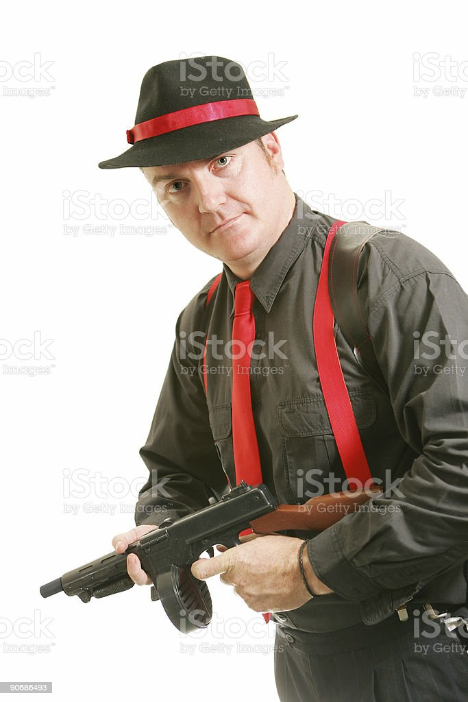 Hitman stock photo