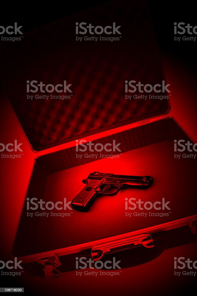 Hitman's Weapon stock photo