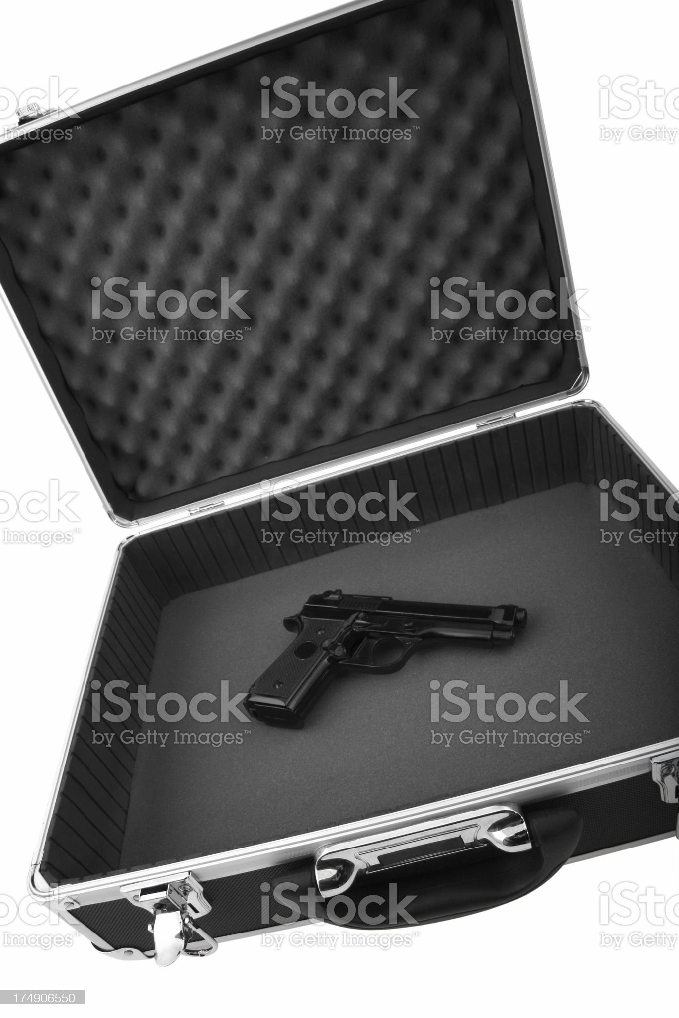 Hitman'€™s Weapon royalty-free stock photo