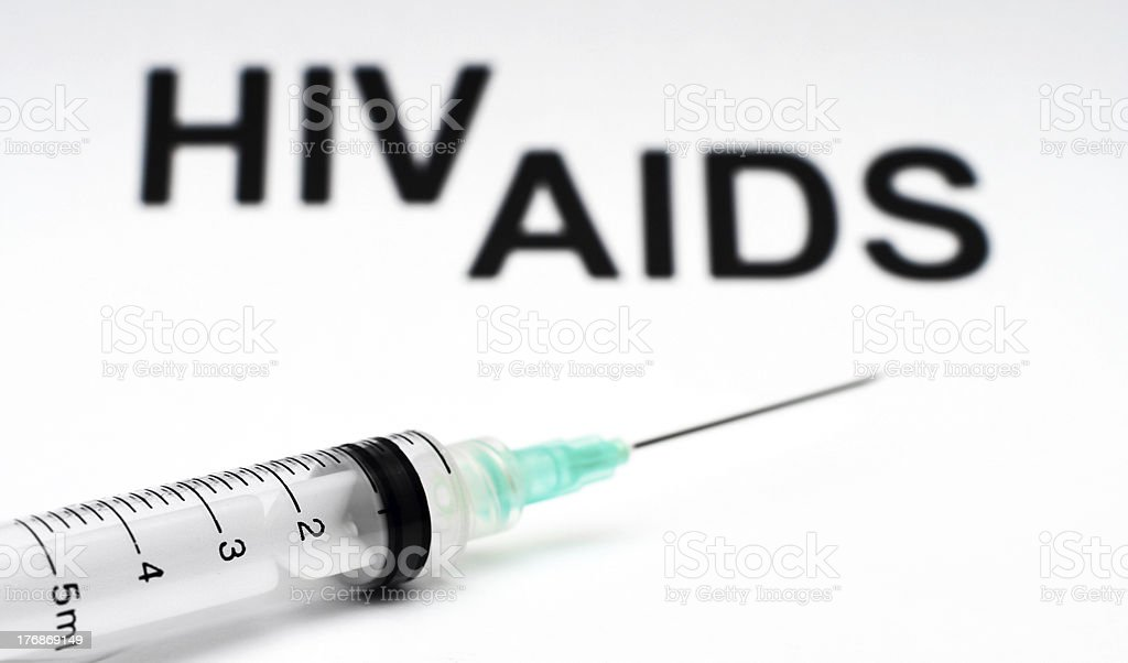 Hiv - aids royalty-free stock photo